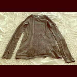Gray Ivivva girls' sweater. Size 10.